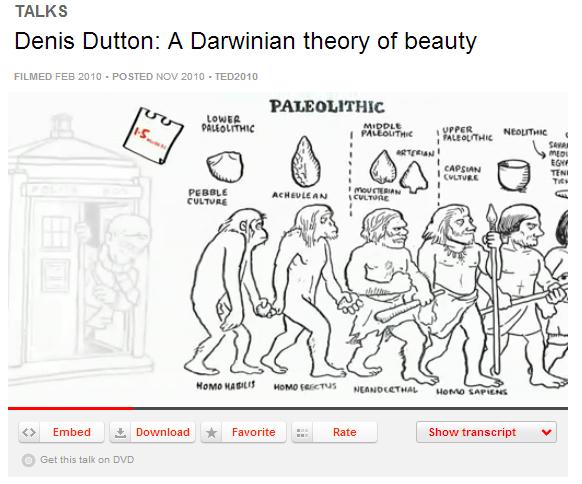 darwinian beauty