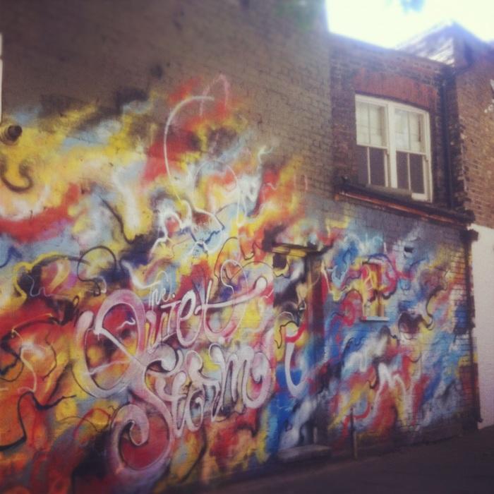 graffiti shoreditch