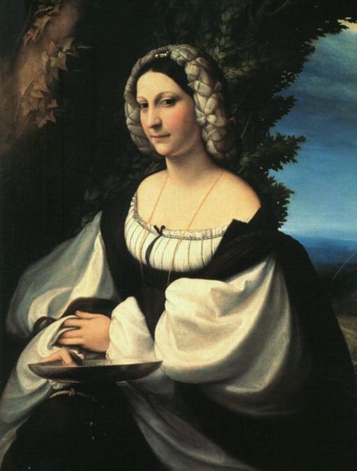 Correggio_Portrait Of A Gentlewoman